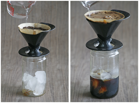 Japanese style iced coffee